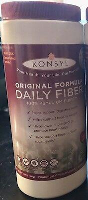Konsyl Original Formula 300 gram Psyllium Fiber Exp. 5/2021 Laxative NON-GMO