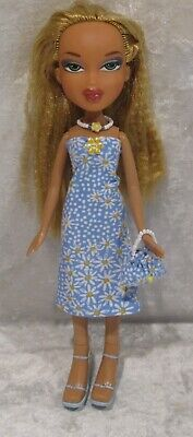"Made to fit 9½"" BRATZ #08 Dress, Purse & Necklace Set, Handmade Doll Clothes"