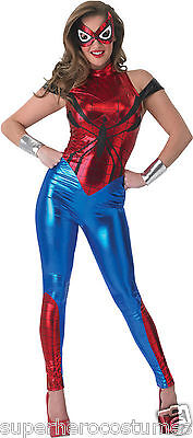 The Amazing Spider Man Costume Adult (The Amazing Spider-Man Spider-Girl Female Adult Costume Size 10-14 NEW)