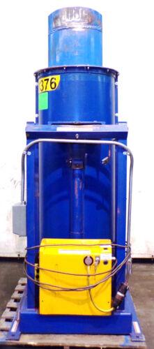 VESTIL STATIONARY HYDRAULIC DRUM DUMPER HDD-48-7-S, 750 LB CAPACITY, 450 V AC