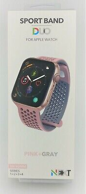 Next WSBD03801 Apple Watch Sport Band Duo 38/40mm Pink New Other Other Sport Watch