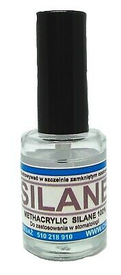 Silane -dental Porcelain Conditioner 10 Ml Glass Bottle With Minibrush