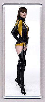 SILK SPECTRE II from WATCHMEN large wide style 'A' FRIDGE MAGNET  - HOT !  (Silk Spectre Ii)