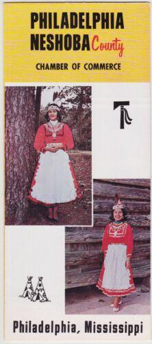 c1980 Philadelphia Neshoba County Mississippi Brochure
