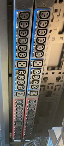 Eaton ePDU G3 Metered 3Ph PDU 35A 208V Outlets 30x C13 6x C19 Plug 3P 4W CS8365C