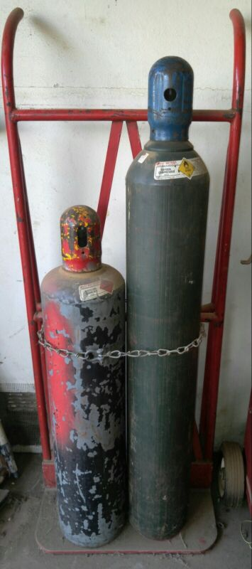 Welding Tanks With Gauges And Nozzles