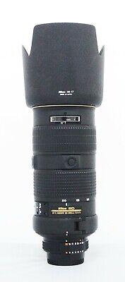 # Nikon NIKKOR 80-200mm f/2.8 AF-S D IF ED Lens - S/N 253903