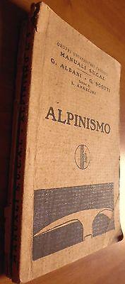 MANUALI S.U.C.A.I. ALBANI SCOTTI ANGELINI ALPINISMO - 1928 - 8/17, usato usato  Cagliari