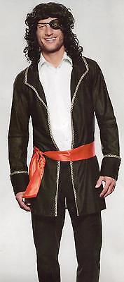 Seeräuber Pirat Freibeuter Kostüm Gr. L Fasching Karneval Halloween (Halloween Räuber Kostüm)