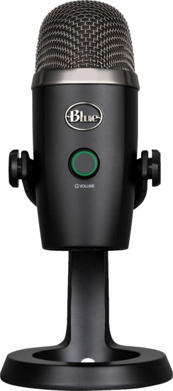Blue Microphones - Blue Yeti Nano Premium Multi-Pattern USB Condenser Microphone