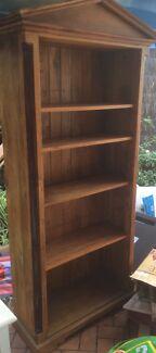 Bookcase - mahogany, adjustable shelving Mosman Mosman Area Preview