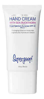 Supergoop Forever Young Hand Cream with Sea Buckthorn SPF 40 1 fl oz. New ()