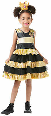 Queen Bee L.O.L. LOL Surprise Deluxe Kinder Karneval Fasching Kostüm 116-128 ()