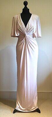BNWT Jenny Packham Designer Evening Maxi Dress Ball Gown Wedding Size 8
