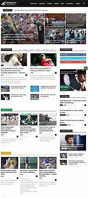Automated Wordpress Sports News Website - Turnkey Profitable Site