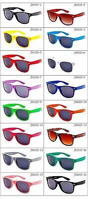 rnbrillen Sonnenbrille Atzen Brille Stil Bunt Farbe (Bunte Sonnenbrille)
