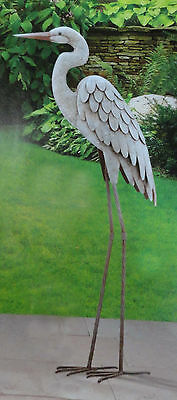 Egret Regal Garden Art 3D Decor Heron ...