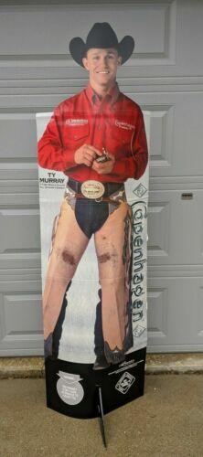 Ty Murray Copenhagen Snuff Cowboy Cardboard Cutout 2004 New In Package!