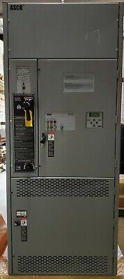 Asco Automatic Transfer Switch 240v 3 Pole 600 Amps H7adtba30600f5xc New Damaged