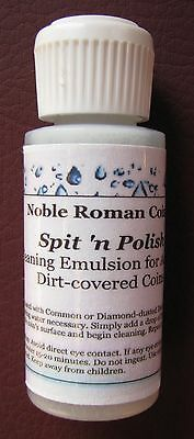 Spit n Polish Cleaning Emulsion for Ancient Roman Greek Byzantine Bronze Coins