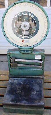 Toledo Scale 2081-0-ss 41977 Model No 2081 Serial No 8275 Capacity 150 Lb