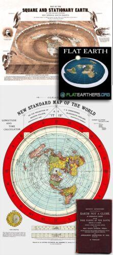 Flat Earth Maps SET: Gleason
