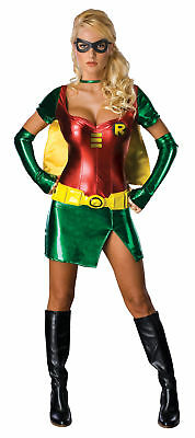 Batman Robin Sexy Adult Womens Costume Chic Heroes Color Theme Party Halloween ()