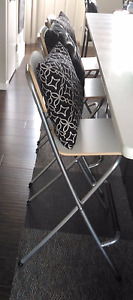 "3 New Foldable Ikea ""Franklin"" Bar Stools - Group price"