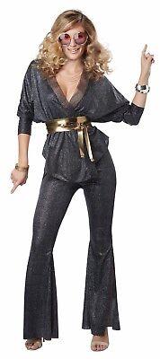 Adult Disco Dazzler 60s 70s Hippie Groovy Go Go Costume ](Dazzler Costume)
