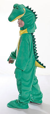 Childrens Crocodile Fancy Dress Costume 128Cm Animal Alligator Halloween Outfit