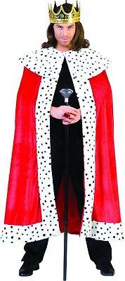 Toller Königsumhang König Kostüm King Arthur Königsmantel Robe Fasching - King Arthur Kostüm