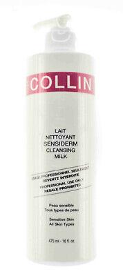 GM G.M. Collin Sensiderm Cleansing Milk Pro Size 16 fl oz/475mL NEW AUTH 2022