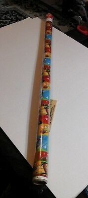 NINJA TURTLES WRAPPING PAPER Big Heroes On The Half Shell Gift Wrap Roll SEALED - Ninja Turtle Wrapping Paper