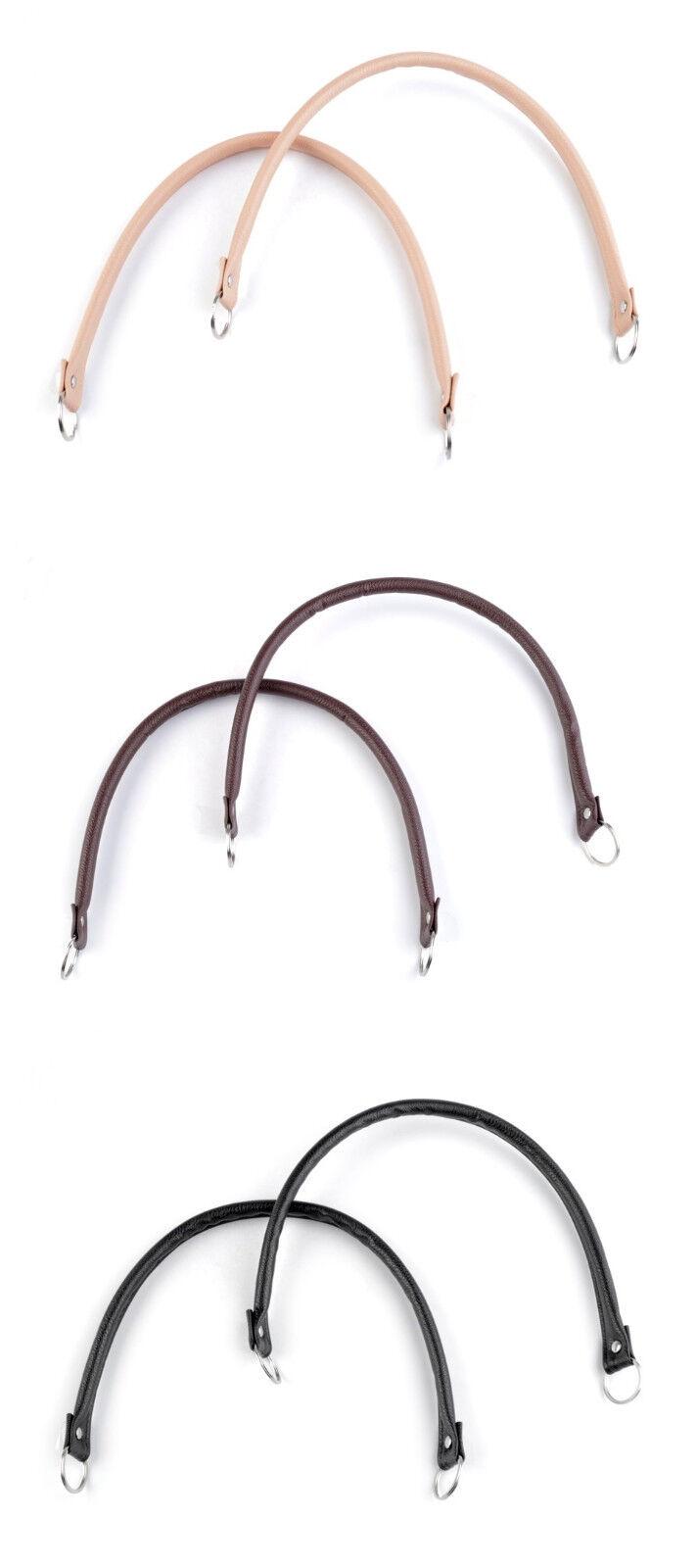 1 Paar Taschengriffe Griffe Taschenhenkel Taschenbügel Taschenherstellung 1251