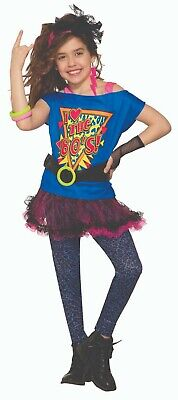 Forum Novelties Totally 80s Awesome TuTu Retro Childrens Halloween Costume 81925](Awesome 80's Halloween Costumes)