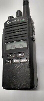 Motorola Cp185 Two Way Radio W Battery Belt Clip Antenna.