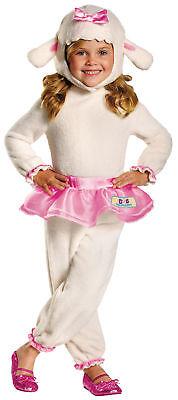 Lambie Doc Mcstuffins Child Girls Costume Jumpsuit Disney Fancy Dress Halloween