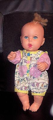 "Vintage 1994 Gerber Baby doll Toy Biz Inc. 15"" Tall GUC"