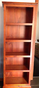 Timber book shelf Rangeville Toowoomba City Preview