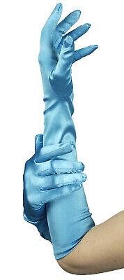 lange Handschuhe türkis ca48 cm Nixe Meerjungfrau u.ä. Fasching Karneval Kostüm