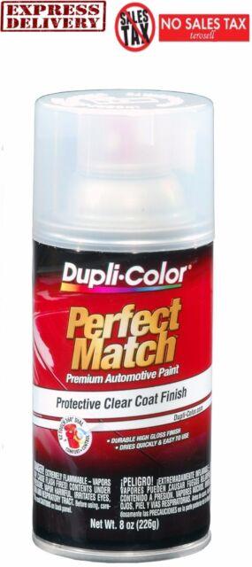 Duplicolor Match Clear Top Coat Aerosol Spray Paint Automotive ...