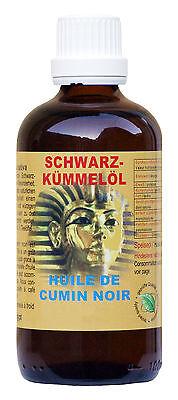 Kaltgespresst natürlich Ägyptisches Schwarzkümmelöl Nigella Sativa 100 ml