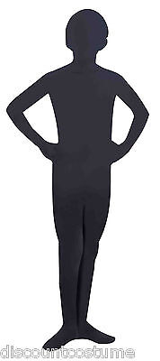 I'M INVISIBLE BLACK SKIN SUIT CHILD HALLOWEEN COSTUME SIZE LARGE (12-14)](Invisible Kid Halloween Costume)