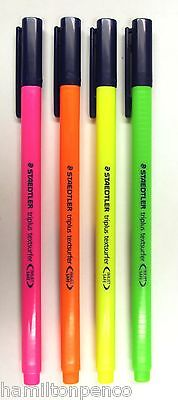 Staedtler Triplus Textsurfer Highlighters - Individual Pens Or Boxes Of 10