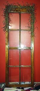Vintage Primitive Country Decor Window