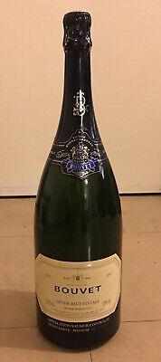 Magnum 1,5L Jeroboam BOUVET SAPHIR SAUMUR BRUT VINTAGE 2003 bottling