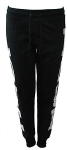 Womens Joggers Trousers Ladies Tracksuit Bottoms Jogging Pants Love Geek Print