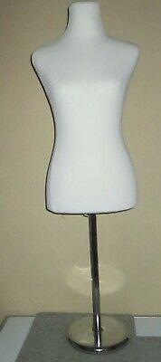 Womens Mannequin Pb 88 Gently Used Dressmaker Adjustable Stand 34 26 35