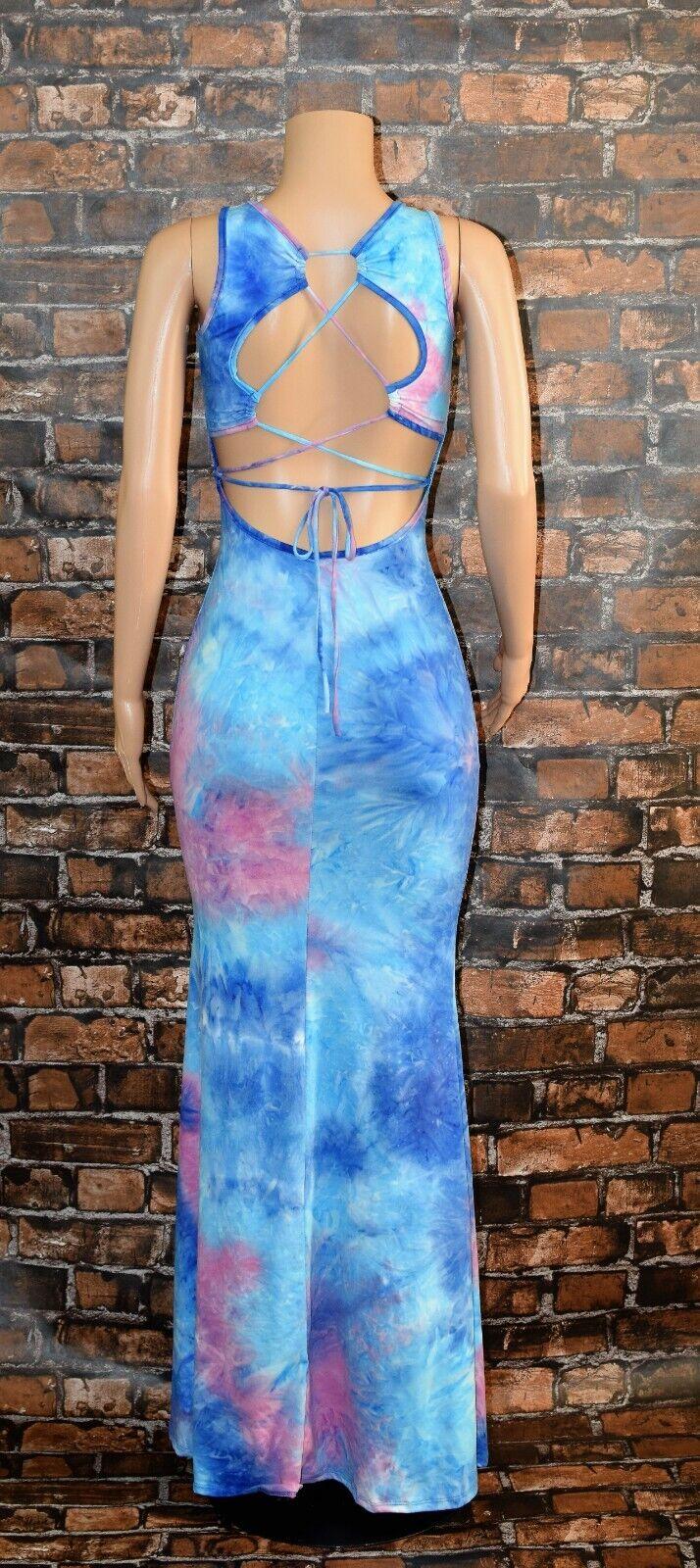 Maxi Dress Tie Dye 7
