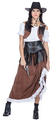 Wild West Western Lady Damenkostüm - Wild West Kostüm
